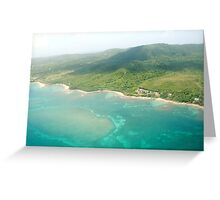 Island Flight Greeting Card