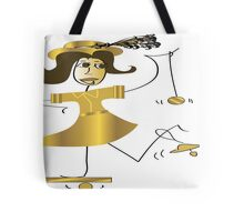 Fifties Girl Tote Bag