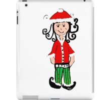 Christmas Elf Jingle iPad Case/Skin
