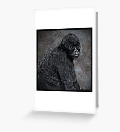 Pensive Greeting Card