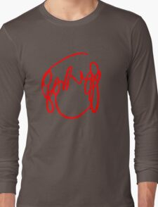 Scott Pilgrim VS the World - Have You Seen A Girl With hair Like This...Ramona Flowers RED Long Sleeve T-Shirt