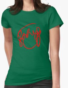 Scott Pilgrim VS the World - Have You Seen A Girl With hair Like This...Ramona Flowers RED Womens Fitted T-Shirt
