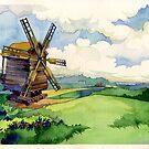 Old windmill by Kasheva