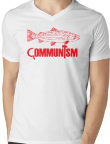 """Movie Clue """"Communism was just a red herring"""" Mens V-Neck T-Shirt"""