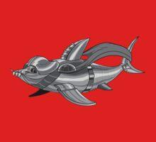 Darth Shark Kids Tee