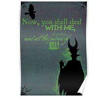 Mistress of All Evil Poster