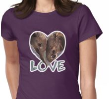 True Love Womens Fitted T-Shirt