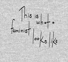 Feminist Looks Like Unisex T-Shirt