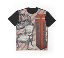 retro jubilee victorian chair london telephone booth Graphic T-Shirt