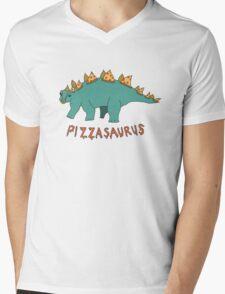 Pizzasaurus! Mens V-Neck T-Shirt