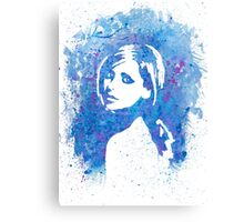 SMG Watercolor Portrait Canvas Print