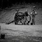 Confederate Artillery by DHParsons