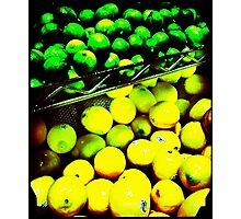 Lemon/Lime Photographic Print