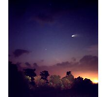 Comet Hale-Bopp. Lake Cypress. Photographic Print