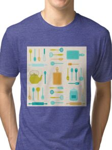 AFE Kitchen Utensils Tri-blend T-Shirt