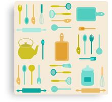 AFE Kitchen Utensils Canvas Print