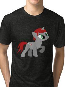 Commander She-pony Tri-blend T-Shirt