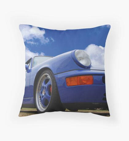 Porshe 911 RS Throw Pillow