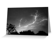Cloud to Cloud Discharge #1. Greeting Card