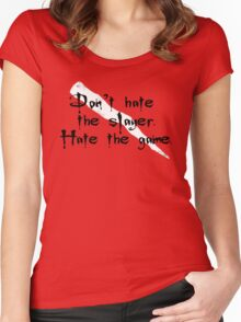 Don't Hate the Slayer Women's Fitted Scoop T-Shirt