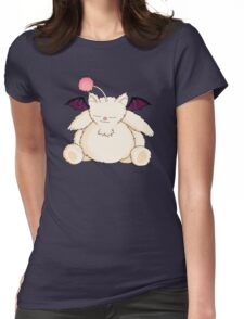 A Snoring Moogle Womens Fitted T-Shirt