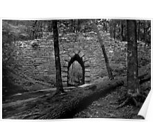 Old Stone Gothic Bridge Poster