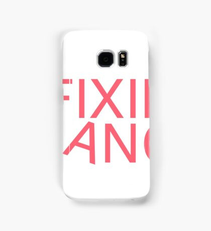 Fixie Gang - pink Samsung Galaxy Case/Skin