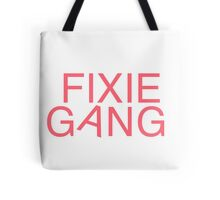 Fixie Gang - pink Tote Bag