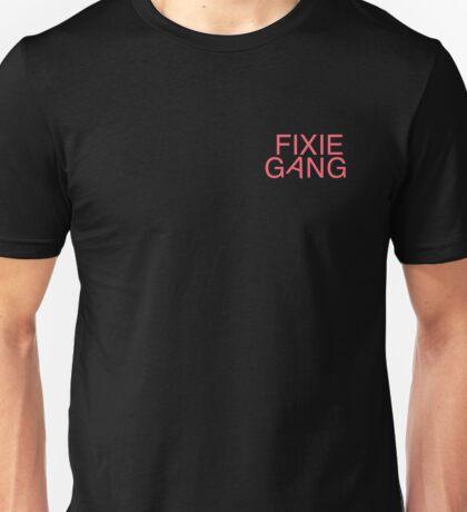 Fixie Gang - pink Unisex T-Shirt