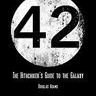 42 - black circle poster by EplusC