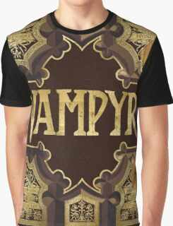 Vampyr Book Graphic T-Shirt