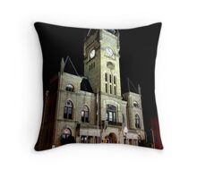 Butler Courthouse Throw Pillow
