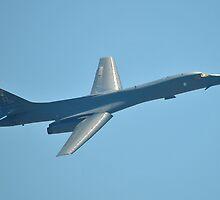 B-1B Rockwell Lancer Bomber by Eleu Tabares