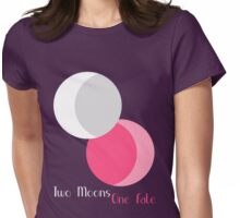 Two Moons One Fate Womens Fitted T-Shirt