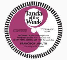 TOTW08/2012 - Lomuto - milongas - TK Purple Kids Tee