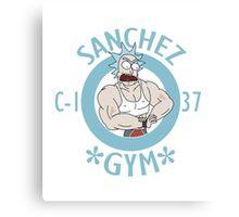 Sanchez GYM Canvas Print