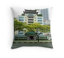 Singapore Chinese Chamber of Commerce building Throw Pillow