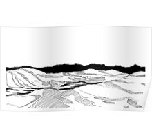 hillscape Poster