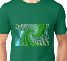 Quilted green Unisex T-Shirt