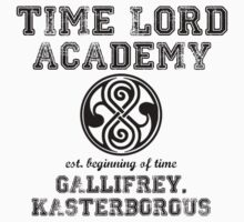 Time Lord Academy Kids Clothes