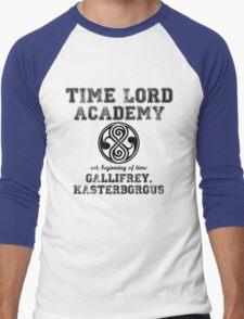 Time Lord Academy Men's Baseball ¾ T-Shirt