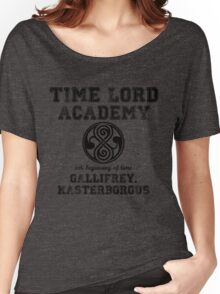 Time Lord Academy Women's Relaxed Fit T-Shirt