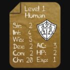 Level 1 - Human [only for Nerd Babies] -Original Colors by Guilherme Bermo