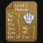 Level 1 - Human [only for Nerd Babies] -Original Colors by Guilherme Bermêo