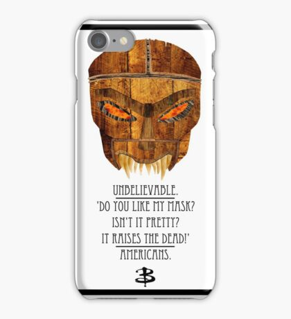 Buffy - Dead Man's Party iPhone Case/Skin