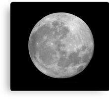 Full Moon. Canvas Print