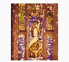 Mermaid Stain Glass Window Unisex T-Shirt