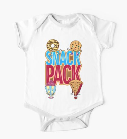 Snack Pack One Piece - Short Sleeve