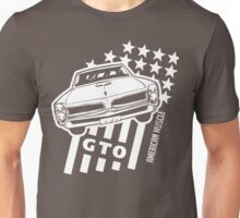 Pontiac GTO Stars & Stripes Unisex T-Shirt