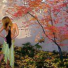 Nova Cynthia In The Garden of Delights, Santa Fe, NM by NovaCynthia